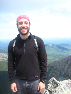 Kevin on Mount Katahdin.